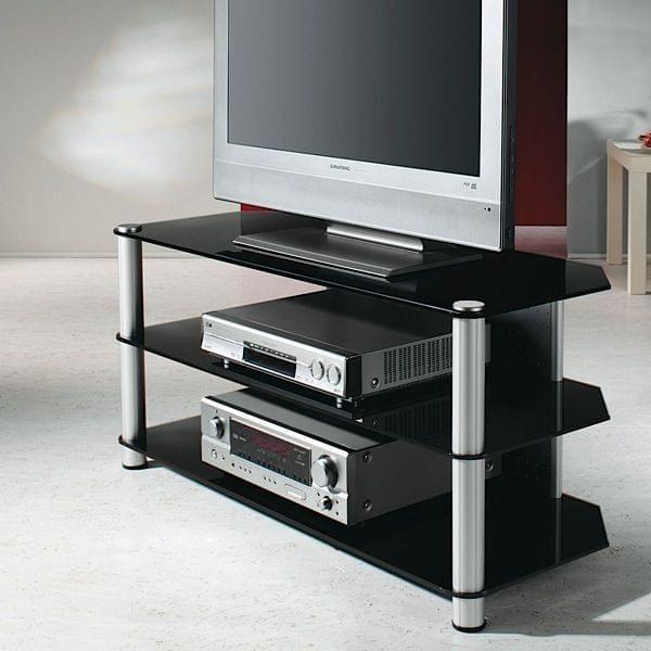TV Supporto per LCD - PLASMA LED, alluminio e vetro di sicurezza ...