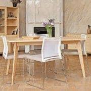 KENSAY طاولة طعام ، في البلوط ، إلهام الشمال من نوعية كبيرة.