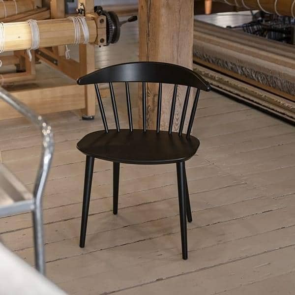 J104 solid beech Chair, Hay: rediscover functional design, through a variety of uses.