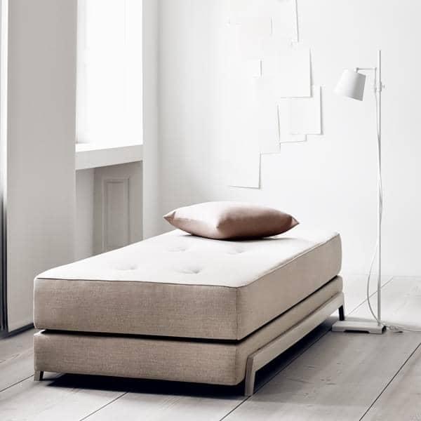 FRAME SOFABED, elegante diván nórdico - fácil de transformar, fácil de usar, SOFTLINE