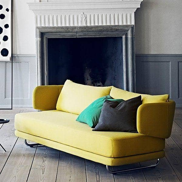 JASPER, en moderne sovesofa i et stilfuldt, moderne design - SOFTLINE