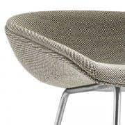 ABOUT A STOOL, stool ved HAY - ref. AAS39 - AAS39, sæde i stof, polstret sæde