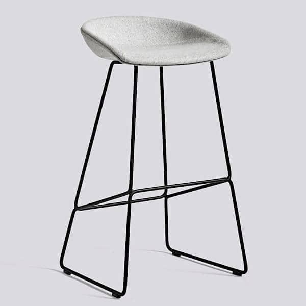 Tabouret de bar about a stool aas39 acier et tissu hay - Tabouret hay about a stool ...