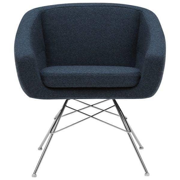 AIKO, komfortabel, elegant og sofistikert lenestol - deco og design, SOFTLINE