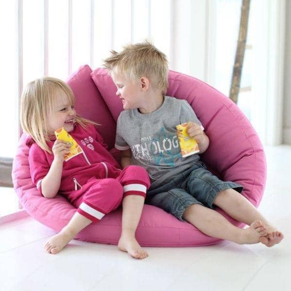 LITTLE NEST, a cocoon chair, which is also a futon, cosy and very comfortable for your child - deco and design