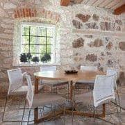 SCANDIWOODダイニングテーブル-すてきなオーク無垢材と木材ベニヤで作られた、温かみのある雰囲気-エコ、デコとデザイン