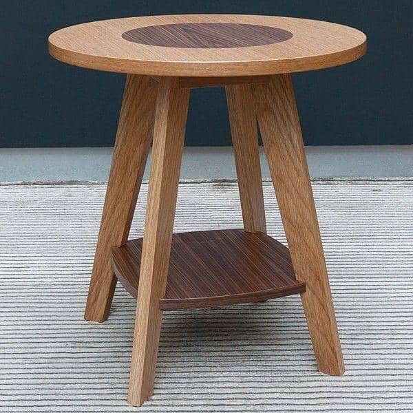 KENSAY Side Table - Oak και καρύδι - δημιουργήθηκε από τον Leonhard Pfeifer - διακόσμηση και ο σχεδιασμός