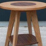 KENSAY Mesinha - Oak e noz - criado por Leonhard Pfeifer - deco e design