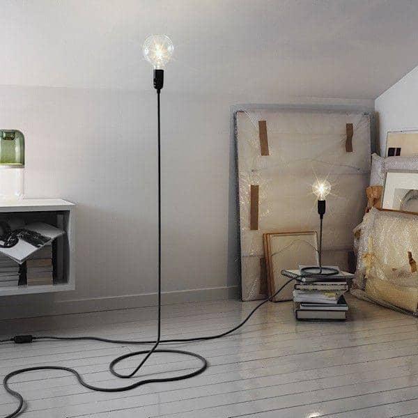 CORD LAMP bord lamp forvandler den elektriske ledning ind i foden af standard lamp - DESIGN HOUSE STOCKHOLM