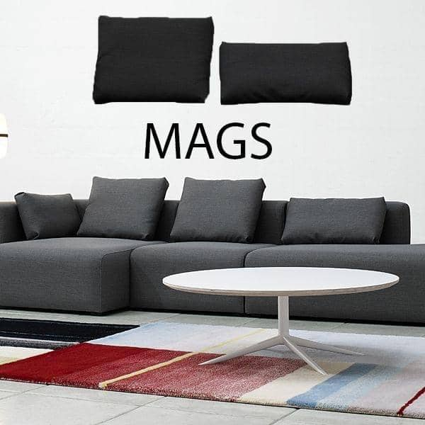 MAGS Cushion, HAY - great colors, two generous dimensions