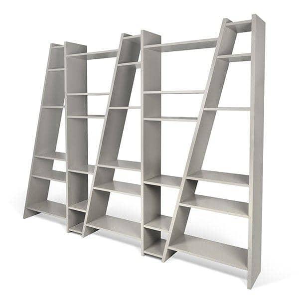 étagères 1 à 5 colonnes DELTA en bois, réversibles, laquage mat  ~ Entreprise Laquage Bois