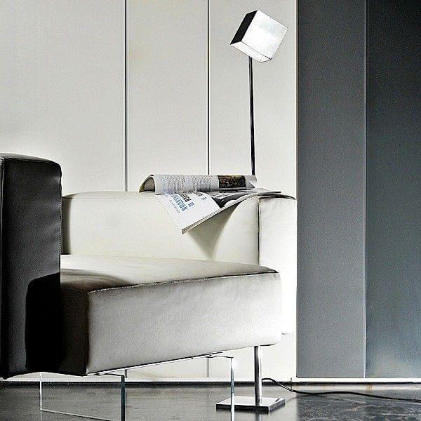 SQUARE en leselampe i polert aluminium - deco og design