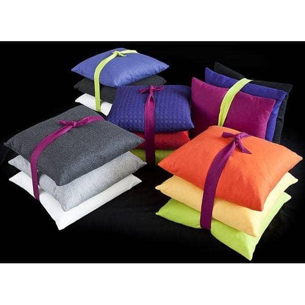 MILAN puder (45 x 45 cm) eller SWING puder (60 x 60 cm) indendørs eller udendørs, en usædvanlig valg af stoffer og farver - Deco og design, SOFTLINE