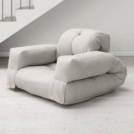 Hippo en lenestol eller en sofa som blir til en komfortabel ekstra futon seng i sekunder deco og design.jpg