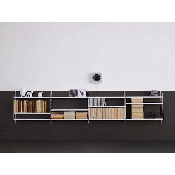 Black White Wall Shelves