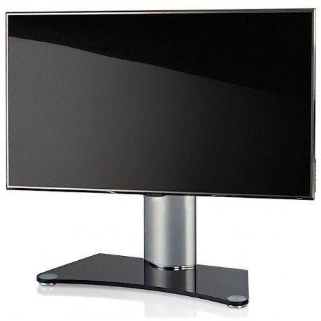 tv-mobler-laget-i-borstet-aluminium-og-glass-ref-17-080-085-laget-i ...