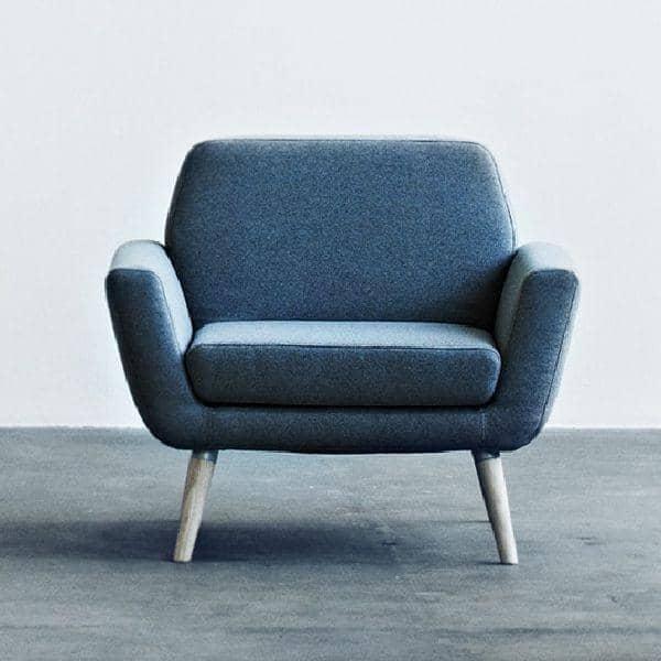 SCOPE, en pæn og behagelig lænestol, den perfekte følgesvend - Deco og design, SOFTLINE