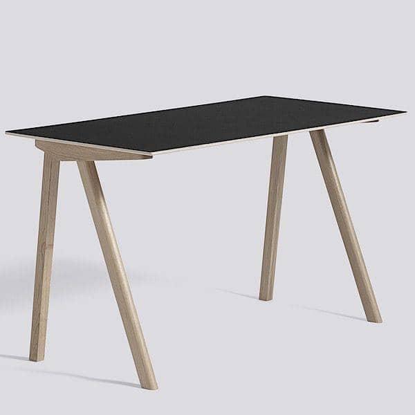 Bureau Bois Massif Design : Le bureau COPENHAGUE CPH90 en bois massif et multiplis, par Ronan et