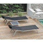 Solseng, ALCEDO, rustfritt stål og BATYLINE, innendørs og utendørs, laget i Europa av TODUS - designet av JIRI SPANIHEL
