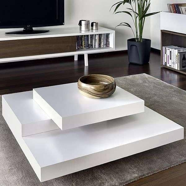 table basse salon effet beton. Black Bedroom Furniture Sets. Home Design Ideas