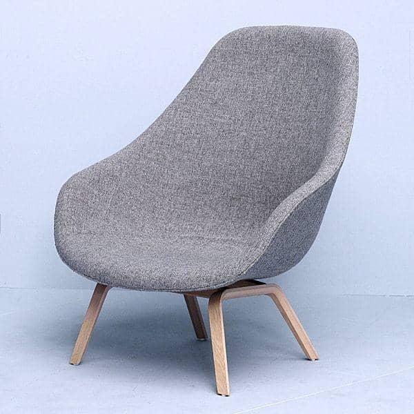 le fauteuil about a lounge chair r f aal93 dossier haut pi tement bois multiplis un grand. Black Bedroom Furniture Sets. Home Design Ideas