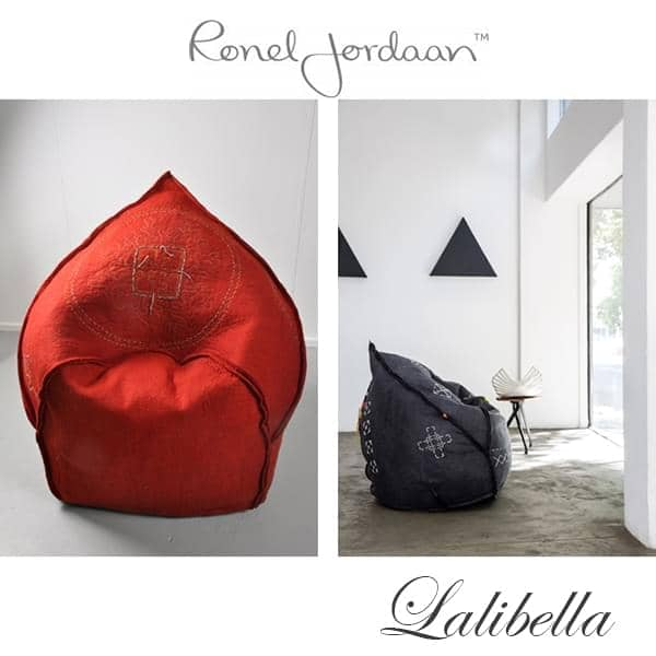 LALIBELLA an exceptional armchair, in Merino wool, handmade in South Africa - 100% ecological, deco and design, design Ronel Jordaan