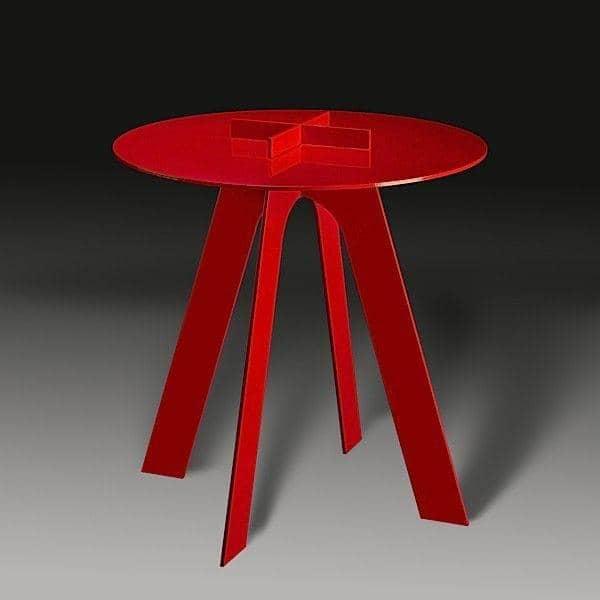 A mesa de aço envernizado PLUS é adequado em toda parte - deco e design, GAEAFORMS