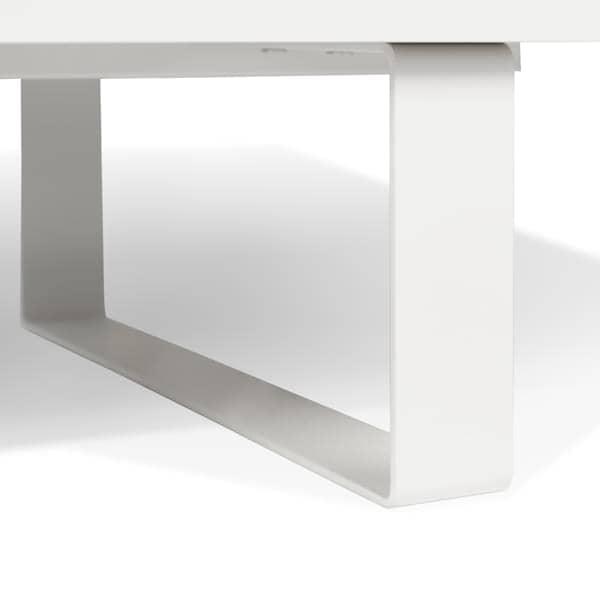 Slide meuble tv ou buffet bas un pied m tal tout en l g ret portes coulis - Pied metal pour meuble ...
