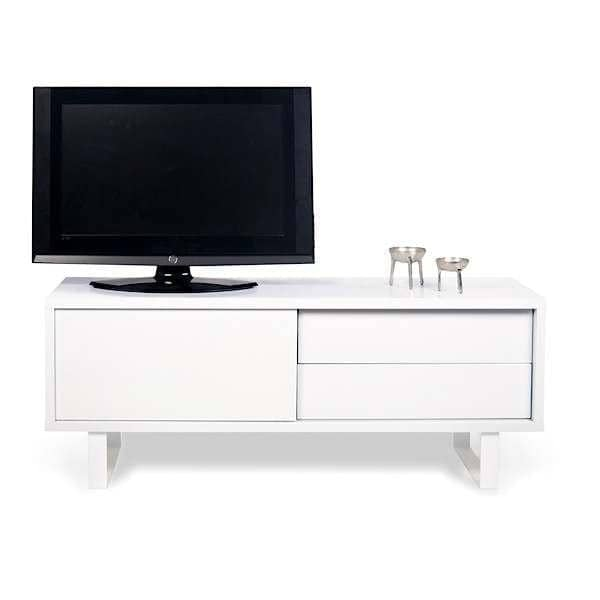 nilo-meuble-tv-buffet-bas-pieds-metal-porte-coulissante-tiroirs-rien ...