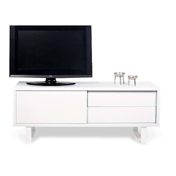 Meuble Tv Bas Avec Led : Meuble Tv Design Avec Porte Coulissante Meuble Tv Modulable Move