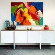 EDGE, credenza perfettamente bilanciato, realizzato con gusto - creazione di RICARDO MAR Cal