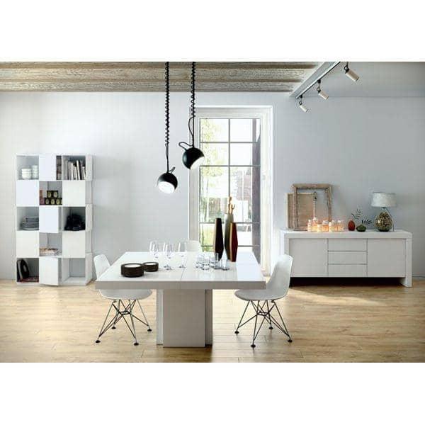 Dusk firkantet spisebord 130 eller 150 cm naesten en skulptur designet af delio vicente.jpg