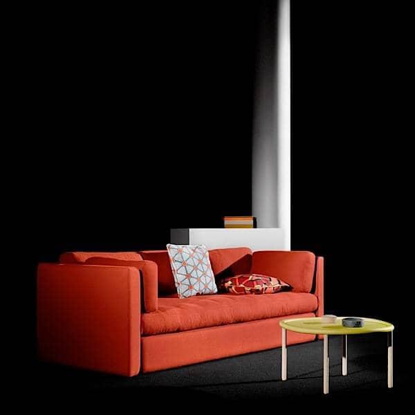 Hackney av WRONG FOR HAY : sofa, 2 eller 3 seter, klassiske stykker design