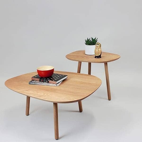 GRAND SALON, μεγάλο τραπέζι του καφέ, από μασίφ ξύλο βελανιδιάς, τον οικολογικό σχεδιασμό