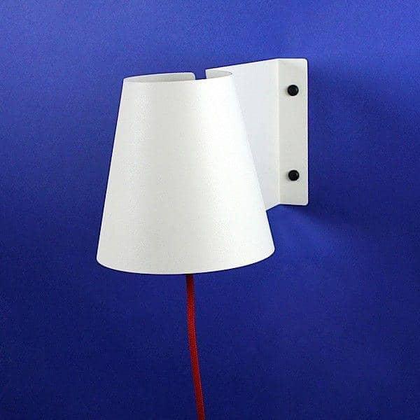 DRABA, væglampe, lakeret stål, hvid eller antracit, miljøvenligt design fra høj qualité med rimelig pris