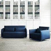 CORD, ein Schlafsofa, ein Cabrio Sessel: zu kleine Räume mit beispielhaftem Schlafkomfort durch Softline angepasst