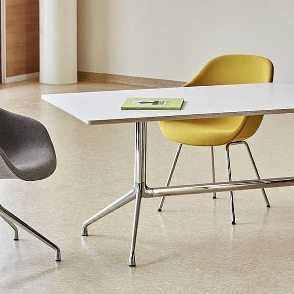 Gambe Per Tavoli In Alluminio.Aat10 Da Pranzo Rettangolare Aat10 Compensato Gambe In Alluminio