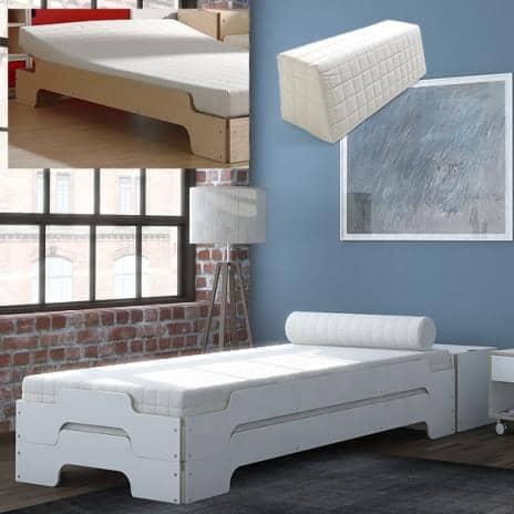 Tilbehør til müller senge: lamelbund, justerbare sengebunde ...