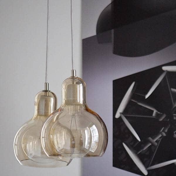 BULB y MEGA BULB colección de iluminación, por SOFIE REFER por ANDTRADITION iluminación sobria, hermoso y elegante