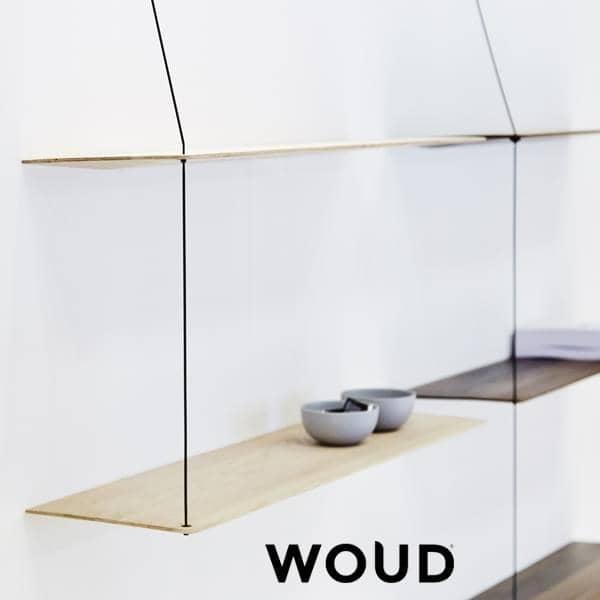 STEDGE, et minimalistisk hylle system