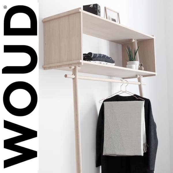 TÖJBOX, più di un attaccapanni, un perfetto pezzo di arredo che stupisce. Eco design, prodotta by studio MADE BY MICHAEL per WOUD