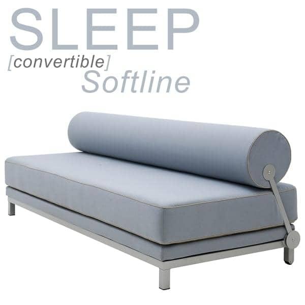 SLEEP, sofá-cama em segundos, para 2 pessoas. por SOFTLINE