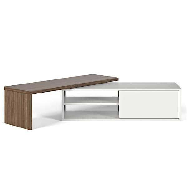 Move meuble tv extensible et pivotant temahome - Meuble tv plateau pivotant ...