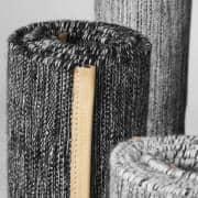 De Björk tæpper fra Design House Stockholm: uld og bomuld, foret med læder, høj styrke og sødme af ædle materialer