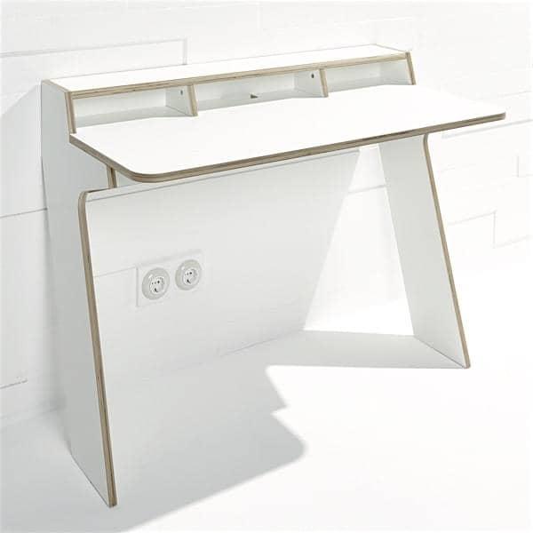 SLOPE, Konsole Schreibtisch, an der Wand, ein Multiplex