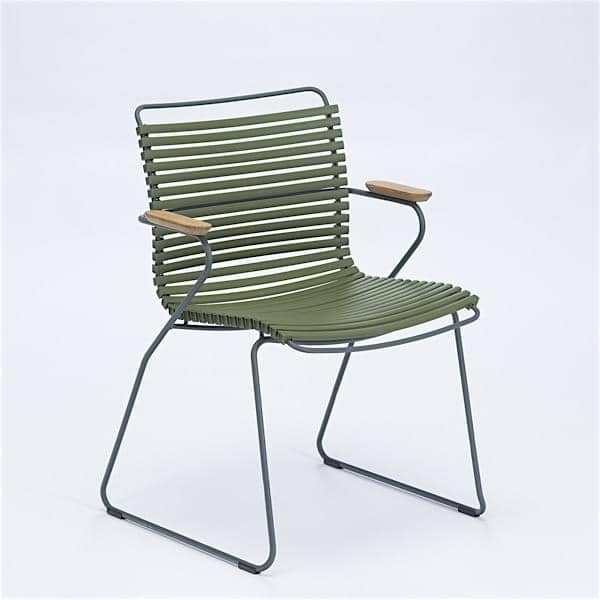 Dining Chair Click System Outdoor Houe Colors 71 Olive Green