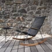 Rocking chair, CLICK SYSTEM, resin and steel, outdoor