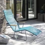 Schaukelstuhl Sessel, CLICK SYSTEM, Harz und Stahl, im Freien, von HOUE