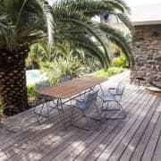 SKETCH ، طاولة حديقة ، والخيزران SKETCH الصلب