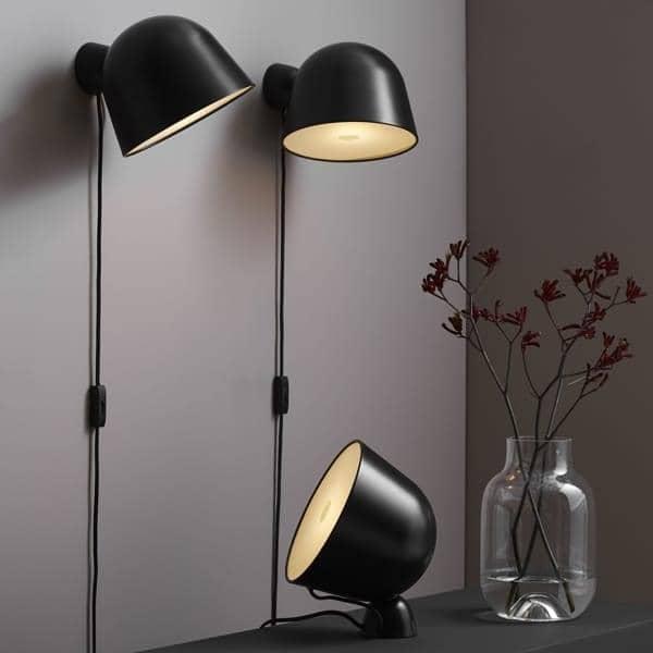 KUPPI, en væglampe, metal, genialt, magnetisk, design. WOUD